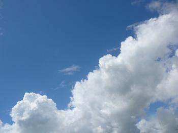 2012年8月の入道雲