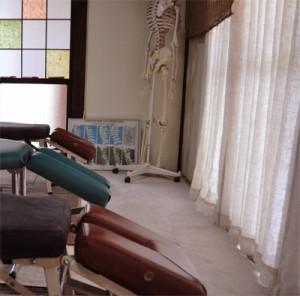 茂原市の整体院の施術室