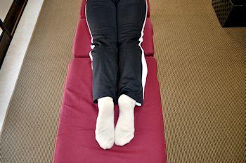 下肢の長さテスト