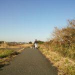 茂原市の遊歩道