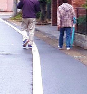 茂原市を歩く60歳さん