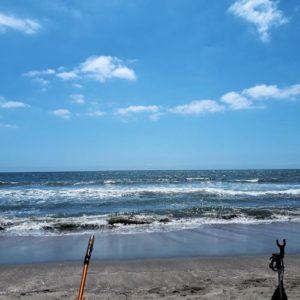 TOKYO2020オリンピック大会でサーフィンが行われた九十九里浜です